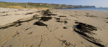 Finistere beach Royalty Free Stock Images
