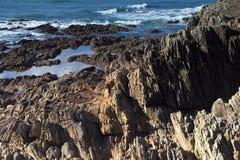 Finisterian coast Stock Photography