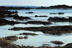 Finisterian coast Stock Photos