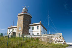 Finisterre Lighthouse Stock Photo