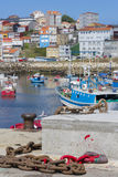 Finisterre port. Royalty Free Stock Photo