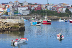 Finisterre port. Stock Photos