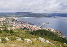 Finisterre Village Royalty Free Stock Images