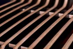 Finition intérieure décorative en bois photographie stock libre de droits