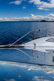 Finland湖反射 库存照片