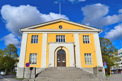 Finland. Architecture of Hameenlinna Stock Photos