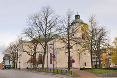 Finland. Church in the town of Hameenlinna Royalty Free Stock Photo