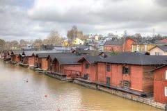 finland Cidade Porvoo Imagens de Stock Royalty Free