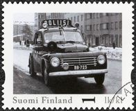 FINLAND - 2013: shows Volvo PV 444, series  Finland Official Vintage Police Car Stock Photos