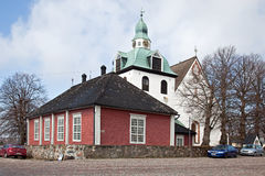 Finland. City Porvoo Stock Photo