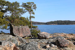 Finland: Coast of the Baltic Sea Stock Photography