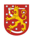 Finland coat of arms Royalty Free Stock Photos