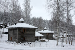 Finland cottage Stock Images