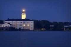 Finland: De middernacht van de zomer in Helsinki Royalty-vrije Stock Afbeelding