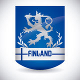 Finland design. Finland graphic design ,  illustration Royalty Free Stock Photos