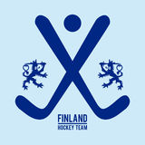 Finland design. Finland graphic design , vector illustration Stock Image