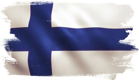 Finland Flag Stock Image
