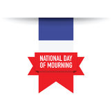 Finland flag background. A French flag background day of mourning Royalty Free Stock Photos