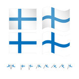Finland Flag Royalty Free Stock Image