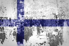 Finland flag Stock Images