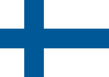 Finland flag, National Finland flag. Flat vector illustration. Finland flag, National Finland flag Vector Illustration