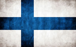 Finland Flag Royalty Free Stock Photo