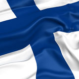 Finland  flag picture Royalty Free Stock Photography