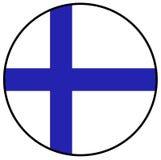 Finland flag Stock Photos