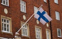 finland flaga Fotografia Stock