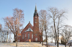 Finland. Forssa Cathedral Stock Photos