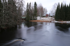 Finland: General landscape in early winter Royalty Free Stock Photography