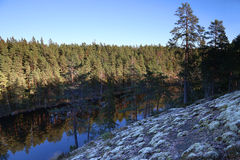 Finland: General landscape and lake Stock Image
