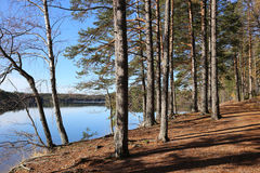 Finland: General landscape and lake Stock Photos