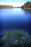 Finland: General landscape and lake Stock Photography