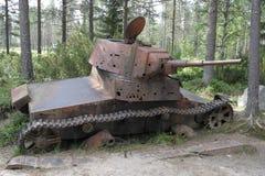 finland Guerra do inverno Imagens de Stock