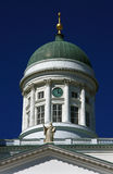 Finland Helsinki Lutheran cathedral Royalty Free Stock Photo
