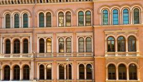 finland Helsinki rzędu okno Obrazy Royalty Free