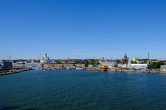 Finland  Helsinki Seaport. Helsinki, Finland - 29 May: Helsinki Seaport Stock Photos