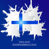 Finland Independence Day. Creative banner or poster For Finland Independence Day Royalty Free Stock Photos