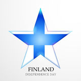 Finland Independence Day. Creative banner or poster For Finland Independence Day Stock Photography