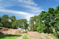finland isopuisto kotka park Zdjęcia Royalty Free