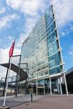 FINLAND, JYVASKYLA - AUGUST 18, 2017: Modern building of Innova. Business center royalty free stock photography