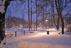 Finland . Kotka before Christmas Royalty Free Stock Image