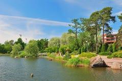 finland kotka krajobrazu parka sapokka Fotografia Royalty Free