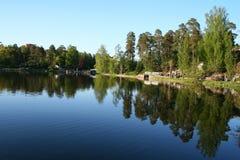 Finland. Kotka town. Park Sapokka Royalty Free Stock Photo