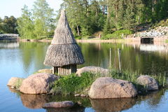 Finland. Kotka town. Park Sapokka. Stock Photos