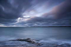 Finland: Kust av Östersjön Arkivfoton