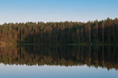 finland lake royaltyfria foton