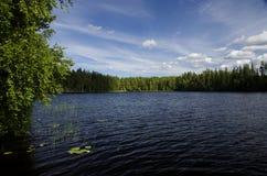 Finland lake Royalty Free Stock Image