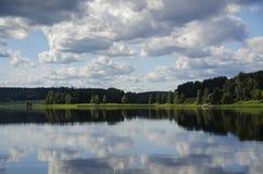 Finland lake Stock Image